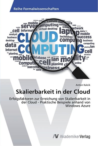 Skalierbarkeit in der Cloud - Book Cover
