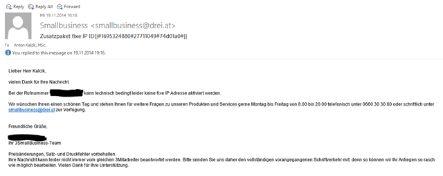 Email Drei