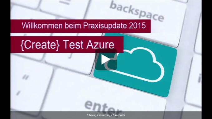 Create Test Azure Teaser Teil 1