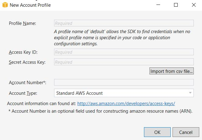 new-aws-account-profile