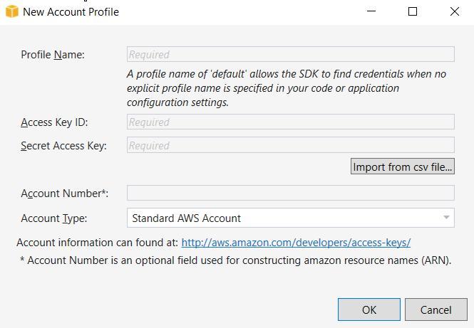 new-aws-account-profile