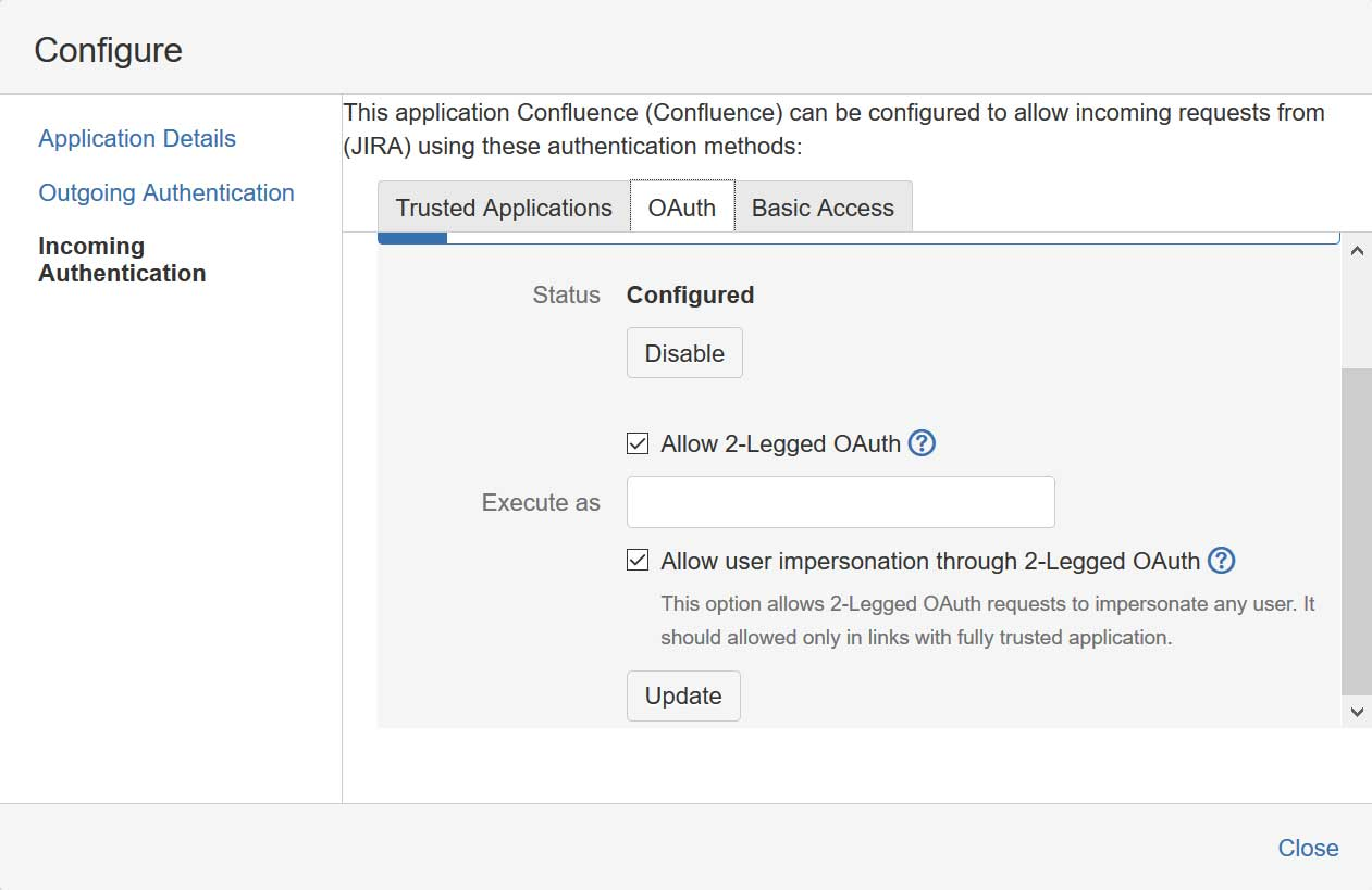 Authenticate against Jira REST APIs with OAuth 1 0a 1-Legged